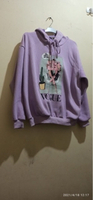 Used Preloved Purple hoodie with vogue print  in Dubai, UAE