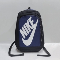 Used New Nike backpack black with blue color in Dubai, UAE
