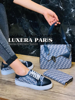 Used Set bag shoes and wallet  in Dubai, UAE