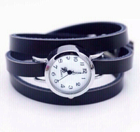 Used women watch with long leather band in Dubai, UAE