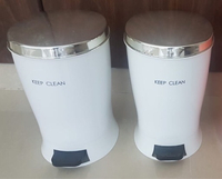 Used Foot press Dustbin with lid cover  in Dubai, UAE