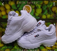 Used Rubber shoes size 39 Fila for ladies in Dubai, UAE