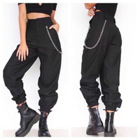 Used Hip hop pant with chain belt size 2XL in Dubai, UAE