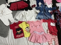 Used Girl clothes bundle 3-9 months old in Dubai, UAE
