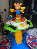 Used E l C learn stay bear dancing baby toys in Dubai, UAE