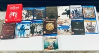 Used PS4 collection games  in Dubai, UAE