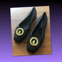Used RUBBERIZED FLAT SHOES/ 40 in Dubai, UAE