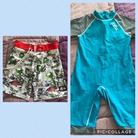 Used 2 swimming dress for boys in Dubai, UAE