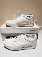 Used White sport half leather shoes EU34 in Dubai, UAE