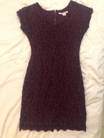 Used Diane von furstenberg purple lace dress in Dubai, UAE