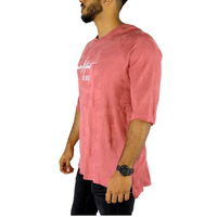 Used T-shirt life style light red new  in Dubai, UAE