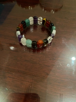 Used Bracelet with semi precious stones  in Dubai, UAE