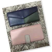 Used 2 Wallet Peach & Blue/green ♥️ in Dubai, UAE