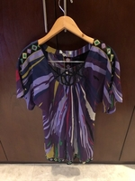 Used Emilio Pucci silk top. Authentic  in Dubai, UAE