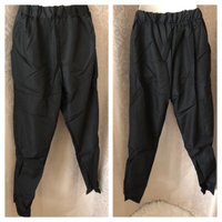 Used Black pants size L in Dubai, UAE