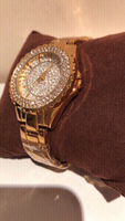 Used 2 Bee sister diamond look watches gold in Dubai, UAE