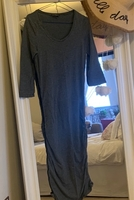 Used Dark Grey long sleeve T-shirt dress in Dubai, UAE