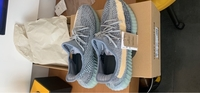 Used New Yeezy 350 boost V2 Ash Blue,Size10.5 in Dubai, UAE