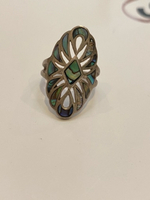 Used Beautiful mother of pearls silver ring in Dubai, UAE