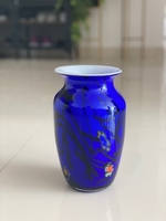 Used Royal blue vase  in Dubai, UAE