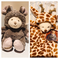 Used Baby Ziggy Giraffe rug toy & Ziggy mouse in Dubai, UAE
