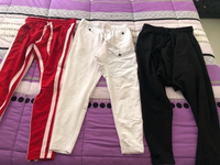 Used 3 man trousers used only once. Size M in Dubai, UAE
