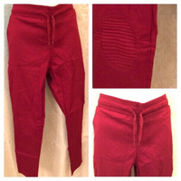 Used Red stretch pants lady size 2XL  in Dubai, UAE