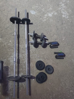 Used Gym weights dumbles 40kg  in Dubai, UAE