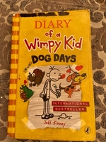 Used Diary of a wimpy kid dog days in Dubai, UAE