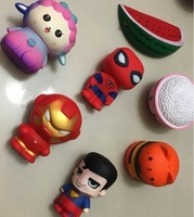 Used Squishies super heroes and others 7pcs in Dubai, UAE