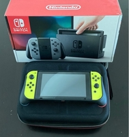 Used Nintendo Switch + Travel & Carrying Case in Dubai, UAE