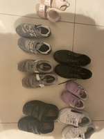 Used Bundle of shoes branded girls and boys  in Dubai, UAE