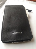 Used men leather card holder - black in Dubai, UAE