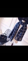 Used Chanel navy scarf in Dubai, UAE