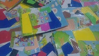 Used Stickers 10  bundle it and get free gift in Dubai, UAE