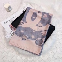 Used Chanel pink scarf in Dubai, UAE