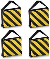 Used Set of Four Black/Yellow  Sand bag in Dubai, UAE