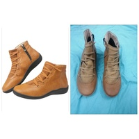 Used Women's Arch Support Boots with Zipper in Dubai, UAE