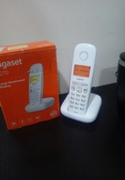 Used Gigaset  cordless phone large display ne in Dubai, UAE