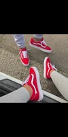 Used Van's,red, new,size 42 in Dubai, UAE