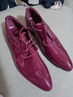 Used Brand new men formal shoes maroon color in Dubai, UAE