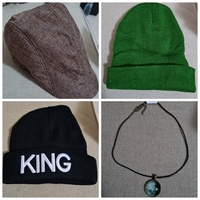 Used 3 brand new caps for winter + free 🎁 in Dubai, UAE