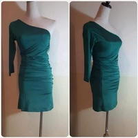 Used Green short Dress for Lady brand new** in Dubai, UAE