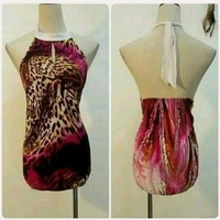 Used Pink backless Top for Lady * in Dubai, UAE