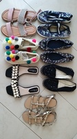Used Girls Shoes size 33-36 7 pairs in Dubai, UAE