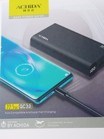 Used ACHIDA®20 - P8 POWER BANK 20000 ORIGINAL in Dubai, UAE