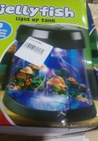 Used Jelly fish light up tank rechargeable ne in Dubai, UAE