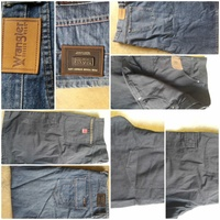 Used 2pices long jeans 2pieces short jean xxl in Dubai, UAE