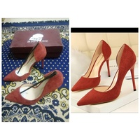 Used Women high heels party shoes size 37 in Dubai, UAE