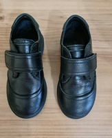 Used Boys' black  leather shoes by Zara in Dubai, UAE
